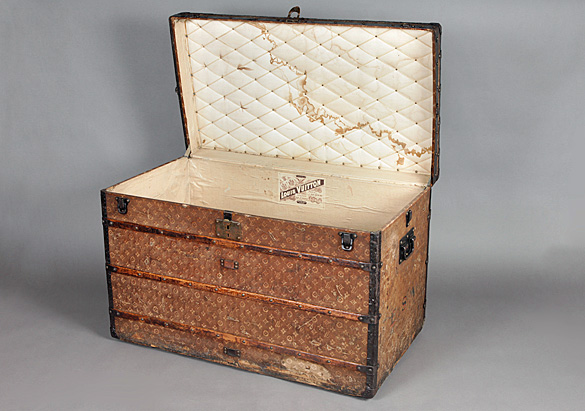Louis Vuitton travel trunk, 1900