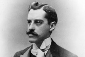 Photographic portrait of young George Vanderbilt