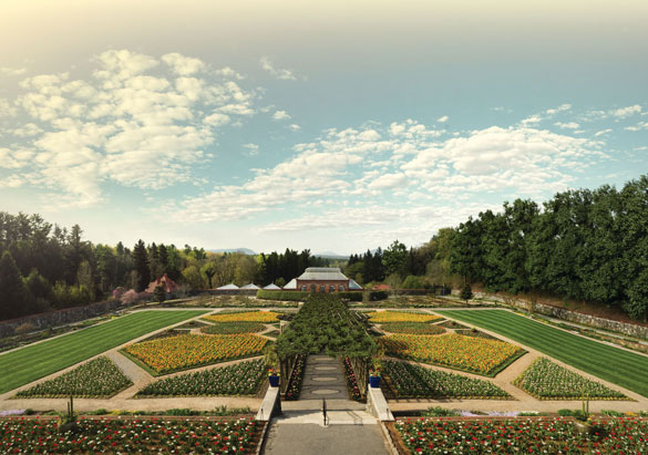 Walled Garden and Conservatory at Biltmore