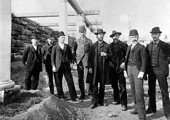 Biltmore construction supervisors 1892