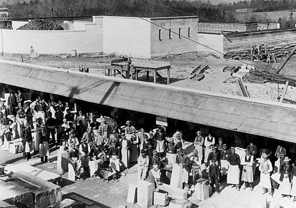 Stonemasons' shed 1892