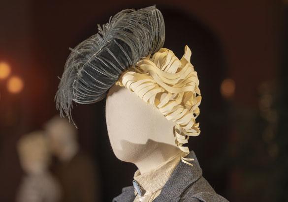Pauline Merrill's gray velvet hat from A Vanderbilt House Party