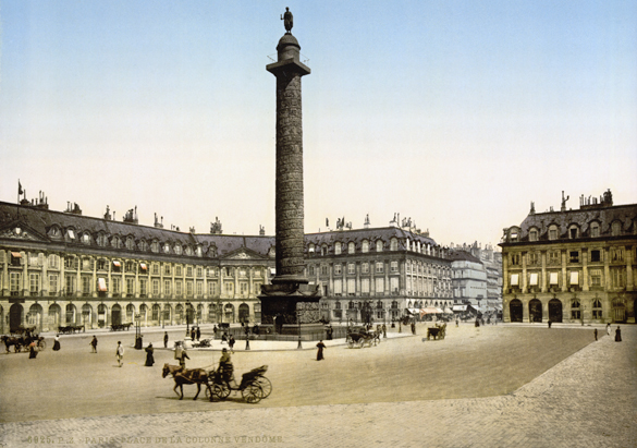Place Vendôme in Paris, site of the Boucheron flagship store, ca. 1890–1900