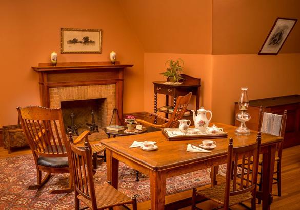 Servants' Hall in Biltmore House