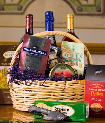 wine and chocolate gift basket & Baskets u0026 Picnics | The Inn on Biltmore Estate