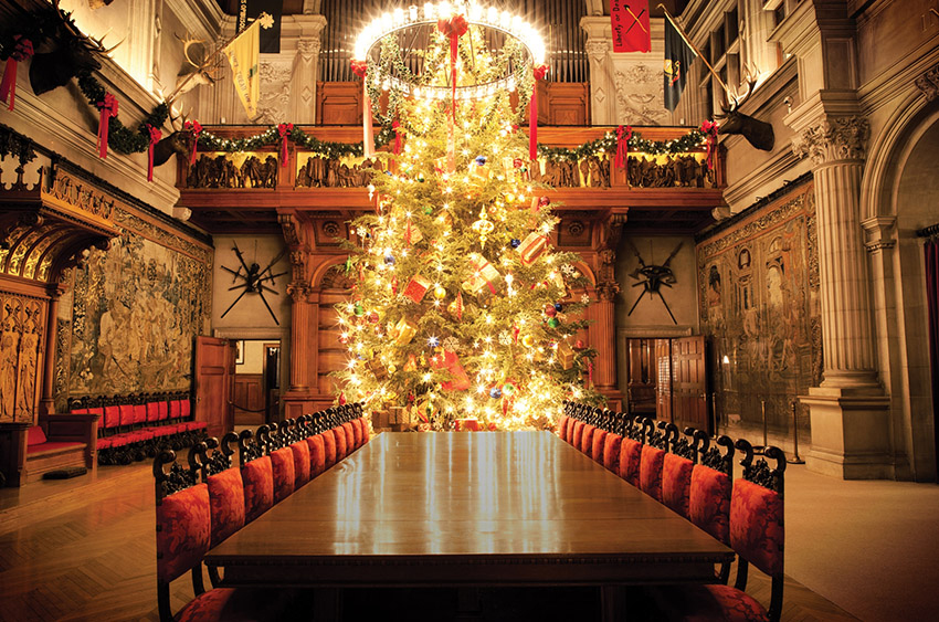 christmas at biltmore - Decorating House For Christmas On A Budget