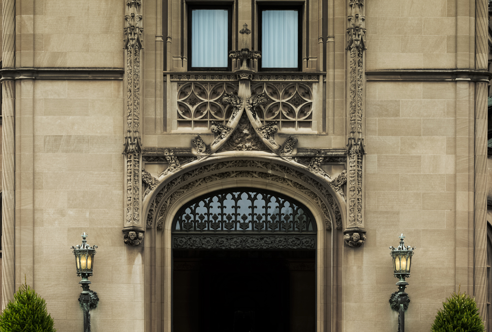 Architectural detail of Biltmore House