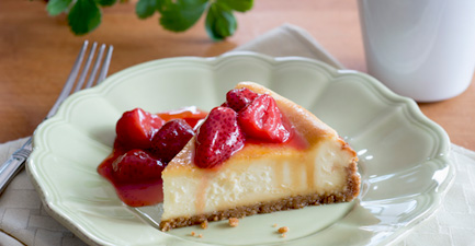 Strawberry Preserves Cheesecake Topping