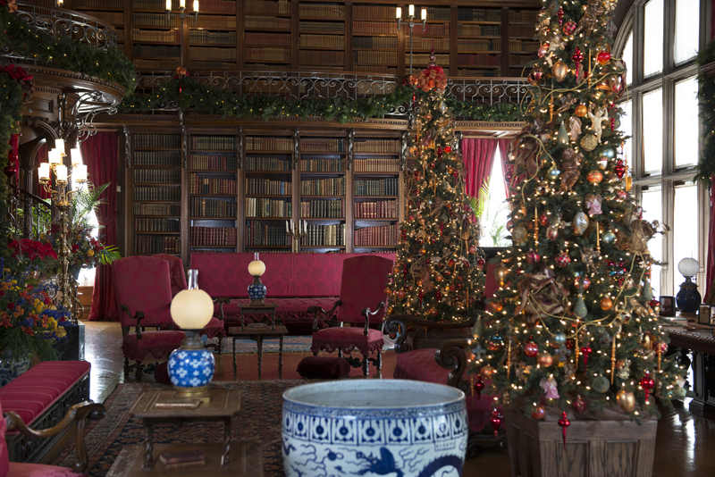 a designers plan for christmas - Library Christmas Decorations