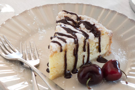 Espresso Chocolate Sauce Cheesecake Topping