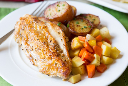Roasted Chicken Breast With Chestnut Honey Biltmore