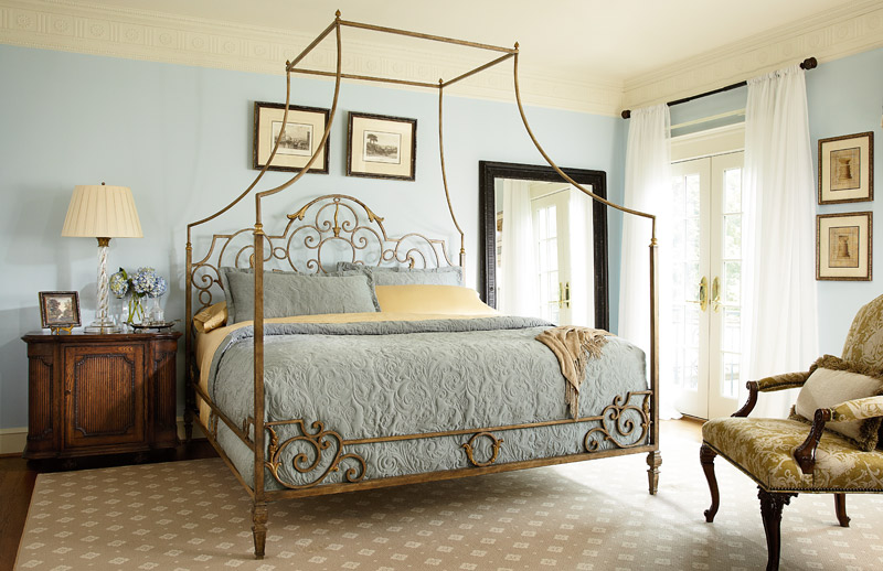 & Metal Canopy Bed | Biltmore