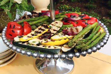 Herb Marinated Grilled Vegetables