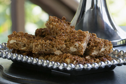 Brown Sugar Nut Granola Bars