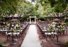 Enjoy summer breezes in the tree-canopied courtyard of Deerpark. Photo by Woodward and Rick Photographers.