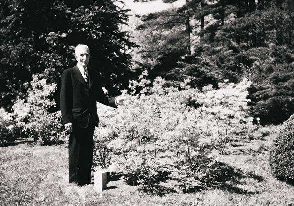 Estate Superintendent Chauncey Beadle, 1948