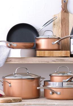 10-Piece Gourmet Non-stick Aluminum Cookware Set