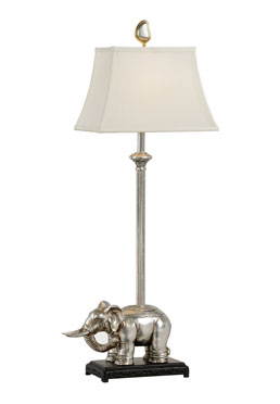 Caparison Lamp - Silver