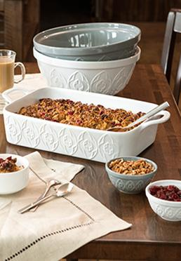 Textured Ceramic Bakeware Collection