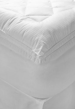600 Thread Count Dobby Dot Mattress Pad