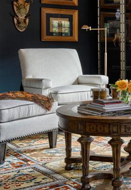 Timeless Armchair & Ottoman