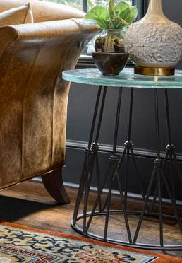 Crown End Table