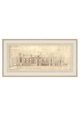Facade of Biltmore House - Available Online