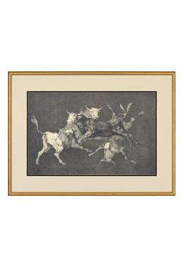 Black & White Engravings - Pamplona