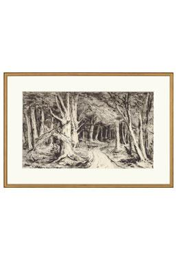 Black & White Engravings - The Path - Available Online
