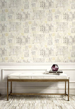 Archives Wallcoverings - <br /> Silver & Gold