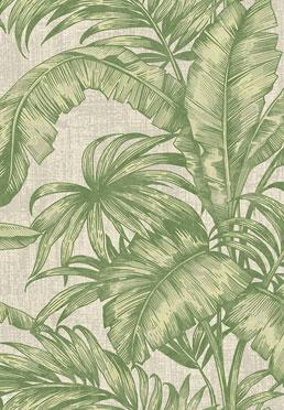 Conservatory Wallcovering - <br /> Green