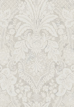 Aubusson Wallcovering - <br /> Gray