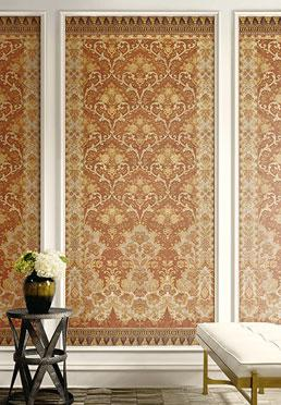 Arabesque Mural Wallcovering