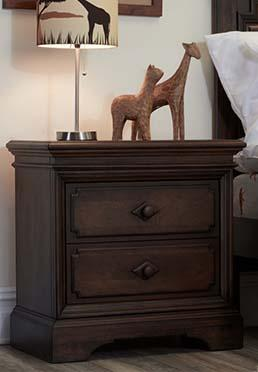 Amherst Nightstand - Burnt Oak