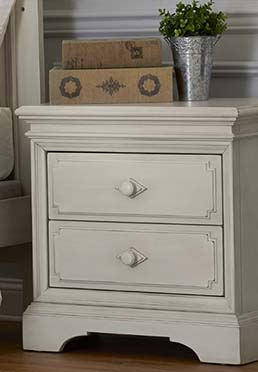 Amherst Nightstand - Antique White