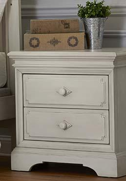 Amherst Nightstand - Antique White
