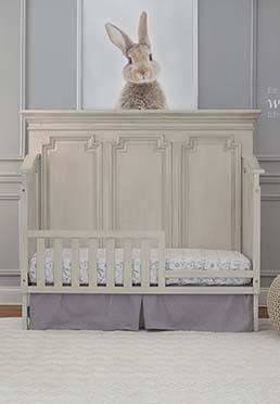 Amherst Guard Rail - Antique White