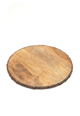 12-in. Raw Bark Edge Standard Round Board