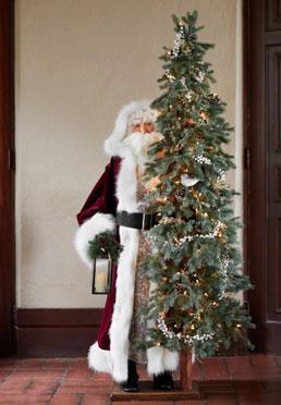 Life-Size Biltmore Santa