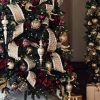 Gilded Christmas Tree Ribbon