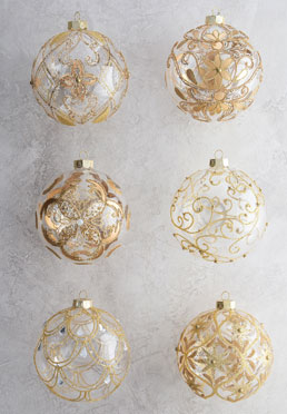 Legacy Jumbo Ball Ornament Set