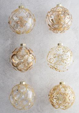 Legacy Jumbo Ball Ornament Set