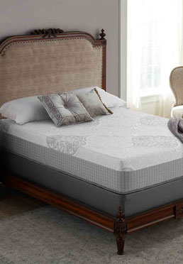 12 in Coil and Memory Foam Hybrid Mattress   -  Available Online