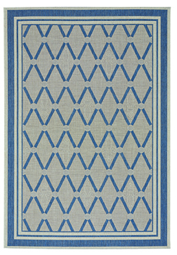 Finesse Lattice - Capri Blue