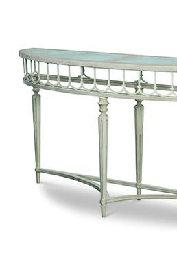 Carlysle Demilune Console Table
