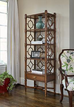 Glendale Etagere Bookcase