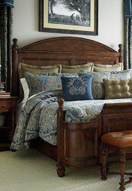 Antler Hill Panel Bed