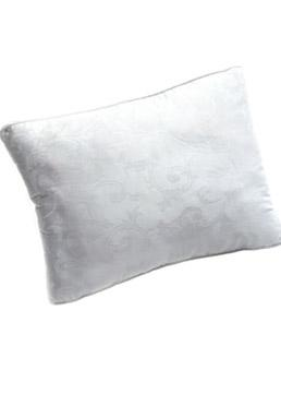 Infinity Gusset Scroll Bed Pillow - Side Sleeper