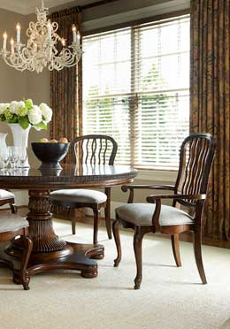 Carved Back Dining Chairs