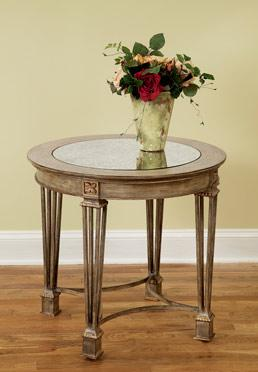 Rounded End Table